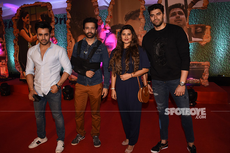 aamir ali with nikitin dheer and kratika sengar at the screening of home