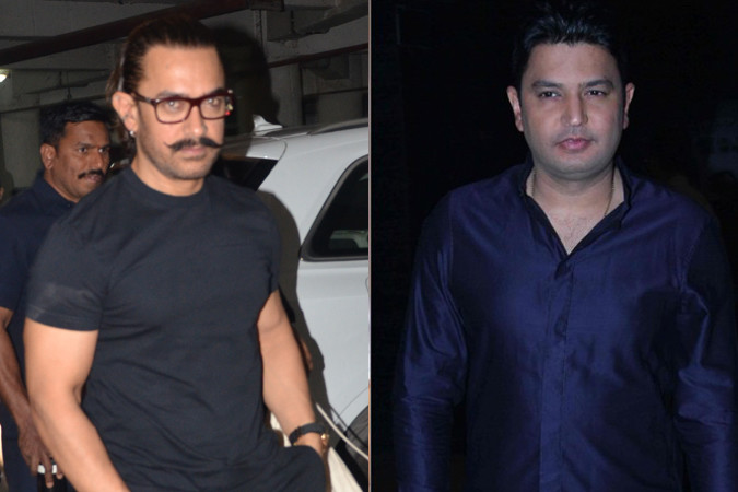 aamir khan and bhushan kumar