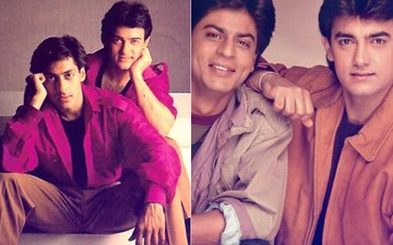 When Aamir Khan MET Shah Rukh & Salman Khan For The FIRST TIME, He Thought...
