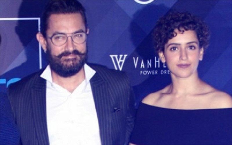 Aamir Khan Dances to Dangal Girl Sanya Malhotra's Tunes