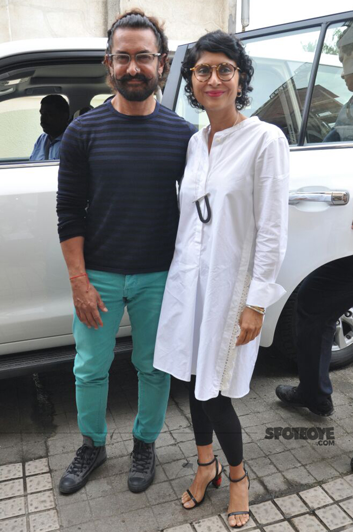 aamir khan and wifey kiran rao