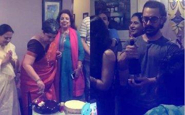Aamir Khan Attends Ex-Wife Reena Dutta's 50th Birthday Bash