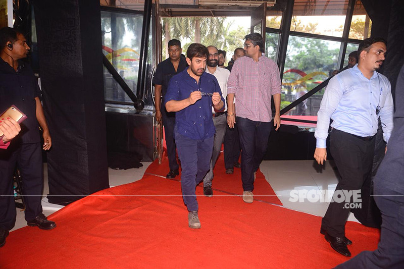 aamir khan at the trailer launch