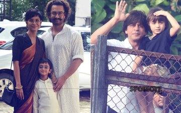 Aamir Khan & Shah Rukh Khan Celebrate Eid With Family