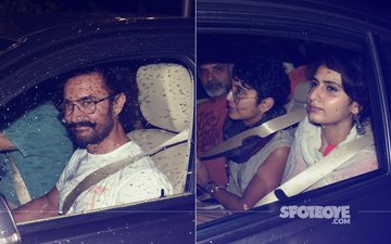 Aamir Khan Watches Son Junaid's Play With Kiran Rao & Fatima Sana Shaikh