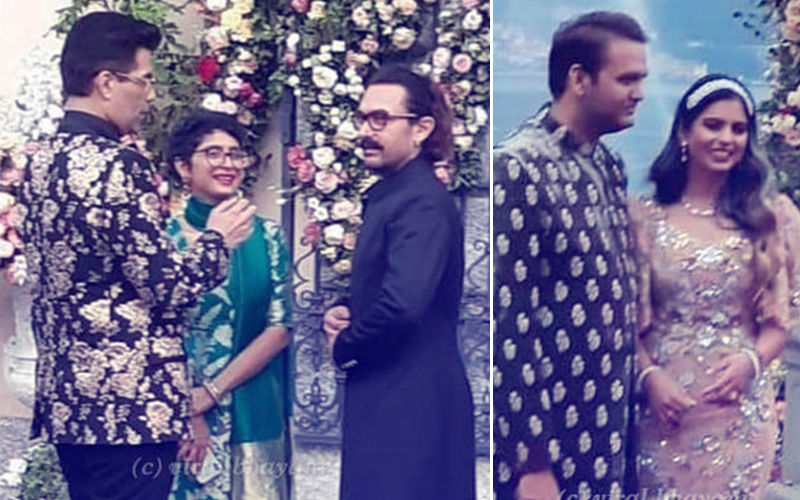 Aamir Khan, Kiran Rao, Karan Johar Attend Isha Ambani-Anand Piramal's Engagement Party In Italy