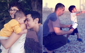 Aamir Khan Shares A Super Dad Moment With Son Azad