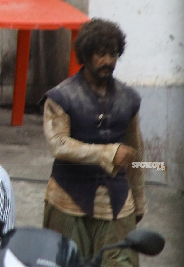 aamir khan look in thugs of hindostan
