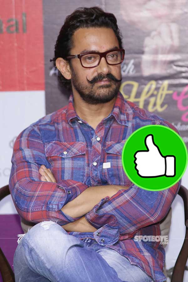 aamir khan snapped at the lunch of asha parekh biography the hit girl