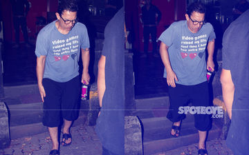 Aamir Khan Spotted Limping After A Spa Session