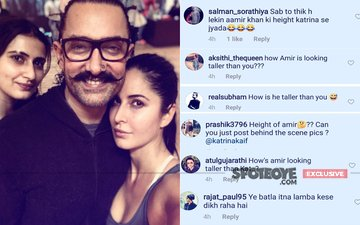 'How Can Aamir Khan Be Taller Than Katrina Kaif?' Trolls Question Thugs Of Hindostan Star, On The Selfie That Was Taken After A Dance Rehearsal