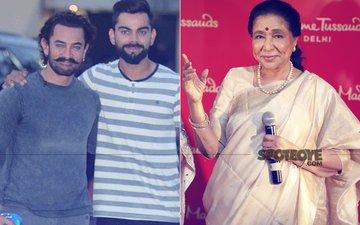 Aamir Khan, Virat Kohli & Asha Bhosle Celebrate