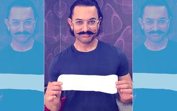 Aamir Khan's Picture With A Sanitary Napkin Is Going Viral