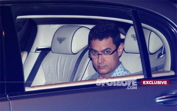 SHOCKING! Aamir Khan's Driver Almost Dozed Off While Driving His Master To Sanjay Dutt's Bash