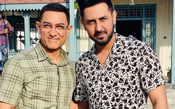 Laal Singh Chaddha: Punjabi Star Gippy Grewal Visits Aamir Khan On Sets; Thanks Him For Giving Respect To 'Turban'