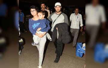 Aamir Takes Azad To Disneyland