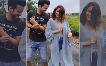 Sanjeeda Sheikh's Estranged Husband Aamir Ali And Aamna Sharif Are Living It Up; Check Out The BFFs' Cute AF Video