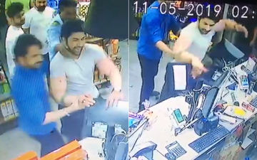 Leaked CCTV Footage Of TV actor Aansh Arora Fighting With Staff At The Ghaziabad Convenience Store