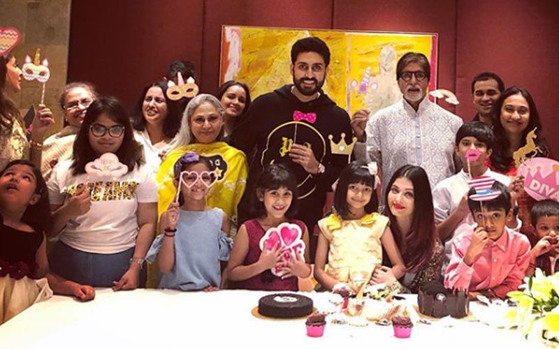 Aaradhya Turns 7, Inside Pics: Aishwarya, Abhishek, Amitabh And Jaya Bachchan Celebrate The Special Day