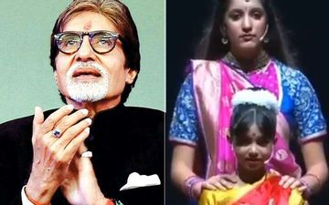 Amitabh Bachchan Calls It His 'Proudest Moment' As He Shares Aaradhya's Powerful Act On Women Empowerment-VIDEO