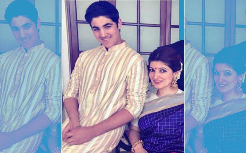 Twinkle Khanna: My Son Aarav Bhatia Is Such An A*s