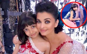 ऐश्वर्या राय बच्चन की बेटी आराध्या ने किया रणवीर सिंह के गाने पर डांस - वीडियों हुआ वायरल