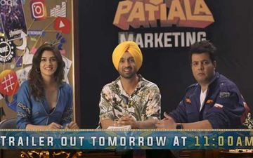 Arjun Patiala Episode 2 Whatte Idea Paaji: Kriti, Diljit, Varun Prep Us For A Fun Ride