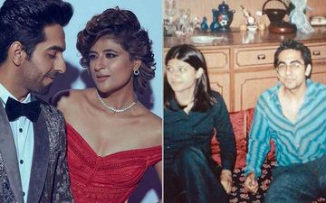 Ayushmann Khurrana's Wife Tahira Shares Throwback Picture From Their First Year Of Dating; Seems Like They Always Practiced 'Social Distancing'