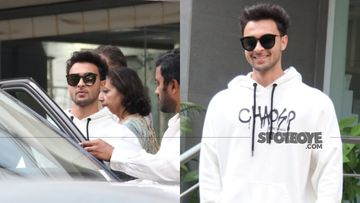 Arpita Khan Blessed With A Baby Girl: Daddy Aayush Sharma Beams With Joy As He Is Spotted Outside The Hospital