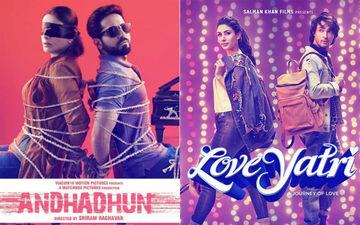 Andhadhun, LoveYatri Box-Office Collection: जानिए कमाई के मामले में दूसरे दिन किसका पलड़ा भारी है