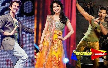 Madhuri edges past Hrithik & Varun to bag dance reality show
