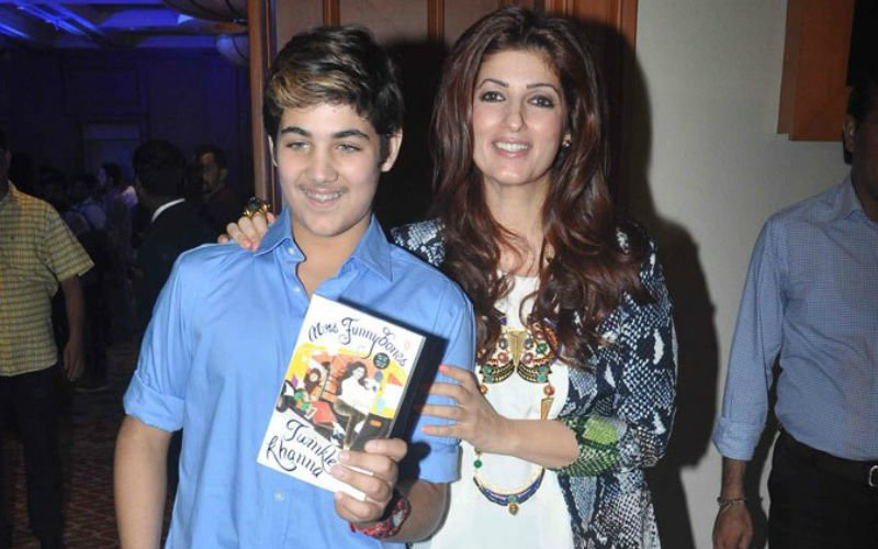 Twinkle Khanna's chat with her son is so funny!