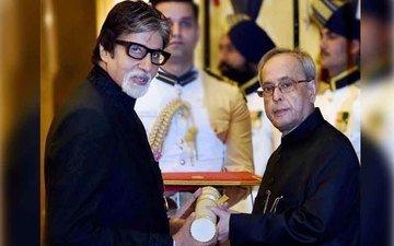 Amitabh Gets Padma Vibhushan