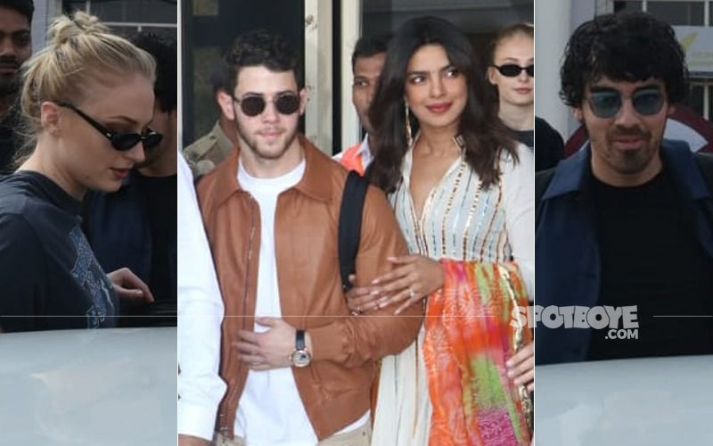 Priyanka Chopra-Nick Jonas Wedding: Ecstatic Dulha-Dulhan And Gang Arrive At Jodhpur