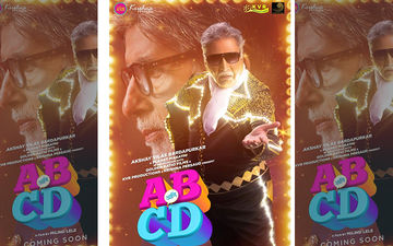 'AB Ani CD' Poster Out Now: Sayali Sanjeev Shares Poster Of Her Upcoming Film Starring Amitabh  Bachchan