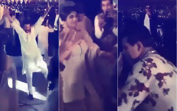 Dance Videos From Sonam Kapoor's Mehendi: Anil, Sanjay Kapoor, Shilpa Shetty, KJo Break Into Bhangra