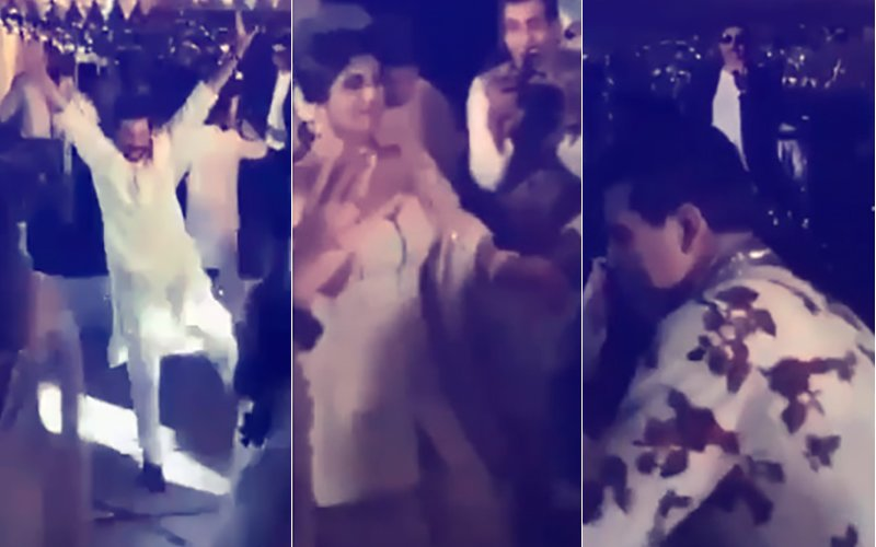 Dance Videos From Sonam Kapoor's Mehendi: Anil, Sanjay Kapoor, Shilpa Shetty, KJo Break Into Bhangra