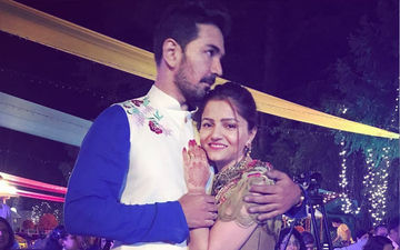 Click To See Pics From Rubina Dilaik & Abhinav Shukla's Ring Ceremony