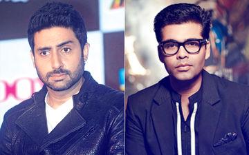 Troll Mocks Abhishek Bachchan & Karan Johar; Actor Hits Back Like A Boss!