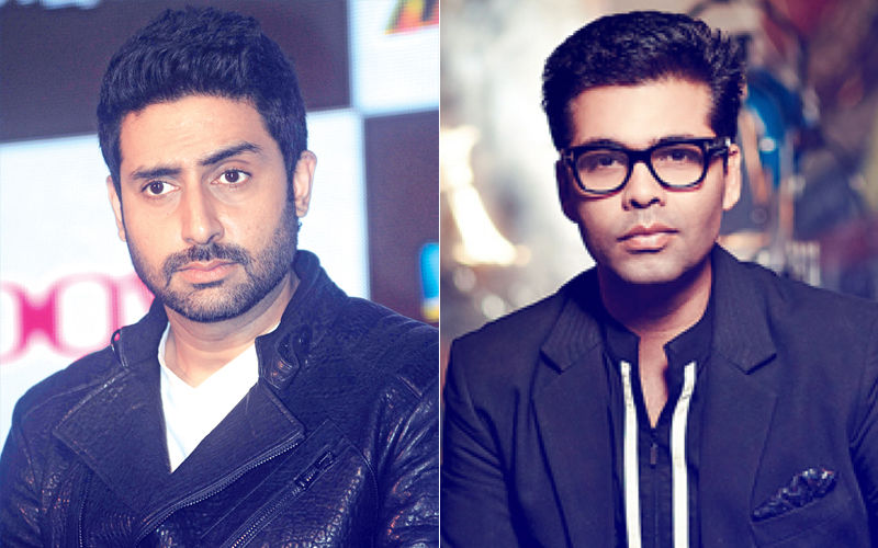 Troll Mocks Abhishek Bachchan & Karan Johar; Actor Hits Back Like A Boss!