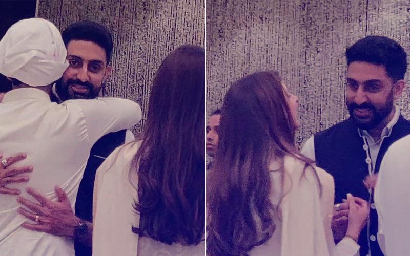 Abhishek Bachchan Gets Trolled For Laughing At Rajan Nanda's Prayer Meet