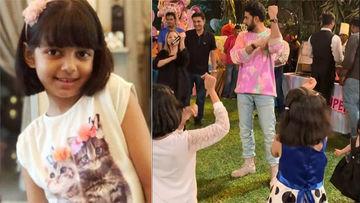 बेटी के जन्मदिन पर अभिषेक बच्चन ने आराध्या के दोस्तों संग किया डांस, देखिए वीडियो