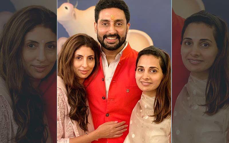 Abhishek Bachchan, Shweta Bachchan Nanda, Navya Naveli, Agastya And Aaradhya Pose For A Perfect  Rakshabandhan Picture