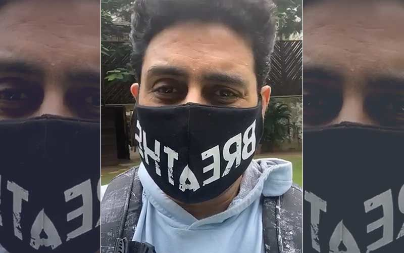 Amid The Huge Spike In Coronavirus, Survivor Abhishek Bachchan Requests Everyone To 'Not Take Virus Lightly'; 'Be Safe, Wear Mask'