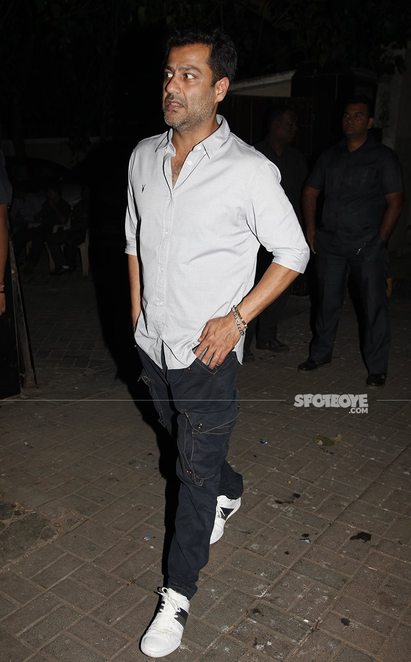 abhishek kapoor at salim khan s birthday bash