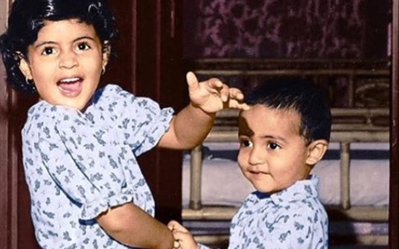 Guess The Siblings? Hint: This Brother-Sister Jodi Has A 'Big' Bollywood Connection