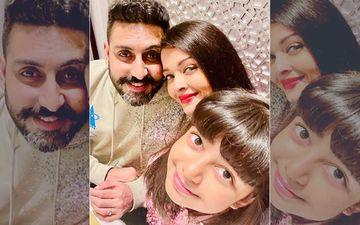 Abhishek Bachchan Birthday: Wifey Aishwarya Rai Bachchan Shares A Happy Family Photo With B'Day Boy And Daughter Aaradhya From the Celebrations