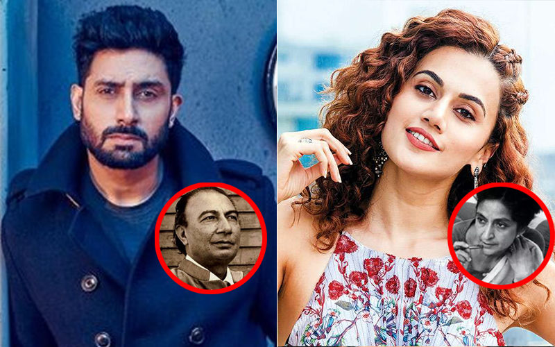 Abhishek Bachchan-Taapsee Pannu Will Live Sahir Ludhianvi And Amrita Pritam's Unrequited Love Story On Celluloid?