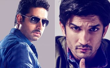 Abhishek Bachchan Takes Over What Sushant Singh Rajput Left Incomplete?