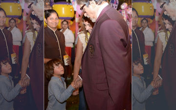 AbRam Believes Amitabh Bachchan To Be His Grandpa And Wonders Why He Doesn't Stay With Shah Rukh And His Family